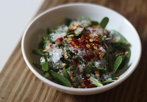 How to Make An Anti-Imflammatory Herbal Jar - Salad 1