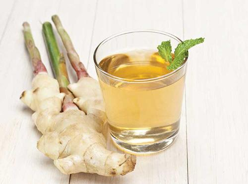 Just Like Ibuprofen The Pain-Relieving Backyard Plants - Ginger Tea