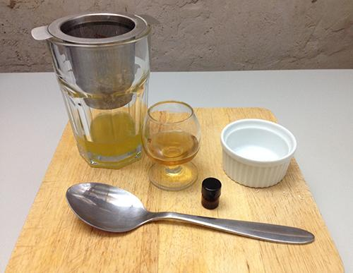 DIY Honey Infused Hair Oil - Step 2