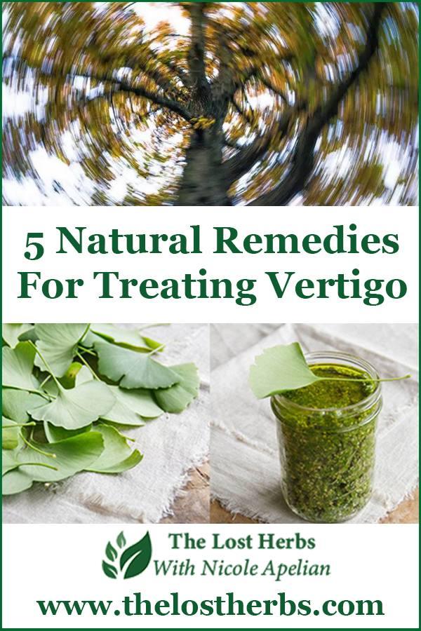 5 Natural Remedies for Treating Vertigo