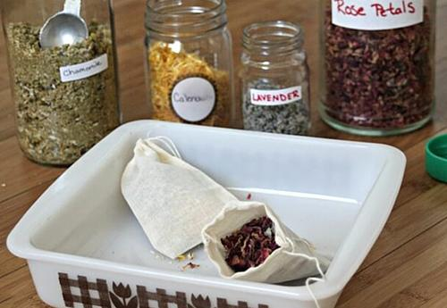 Soak Your Troubles Away with Homemade Tub Tea 5