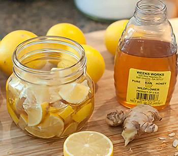 Best Cough and Sore Throat Homemade Syrup Recipes - Ginger