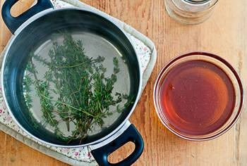Best Cough and Sore Throat Homemade Syrup Recipes - Honey and Thyme