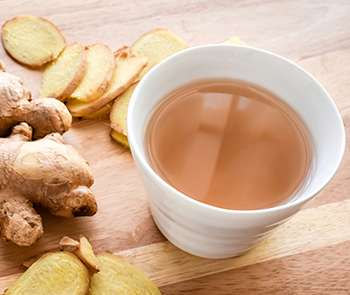 Bedtime Drinks that Burn Belly Fat - Ginger Tea