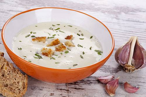 Foods You Can Make at Home That Are Also Natural Remedies - Garlic Soup