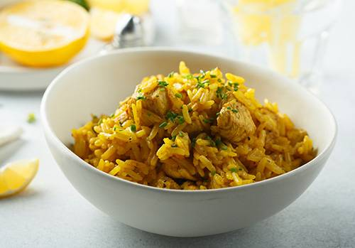 Foods You Can Make at Home That Are Also Natural Remedies - Turmeric Rice