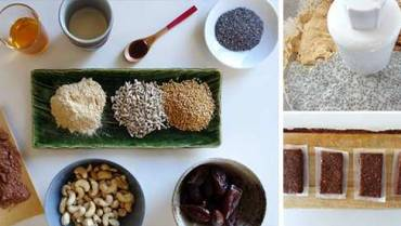 Homemade Adaptogenic Bars With Ashwagandha