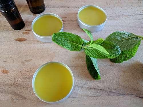 How to Make a Pain Healing Mint Salve - Step 9
