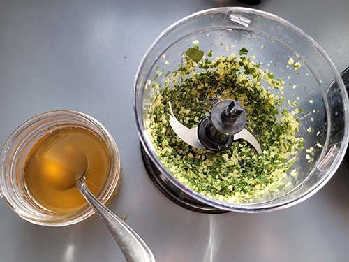 Herbal Oxymel Recipe with Sage and Ginger - Step 10