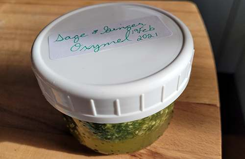 Herbal Oxymel Recipe with Sage and Ginger - Step 12