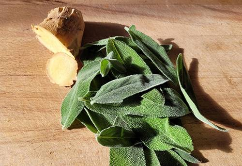 Herbal Oxymel Recipe with Sage and Ginger - Step 5