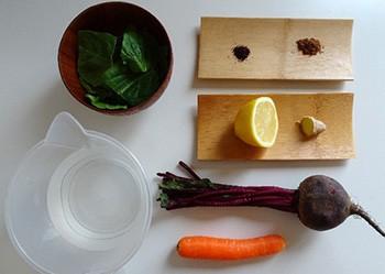 Homemade Juice For Blood Pressure - Ingredients