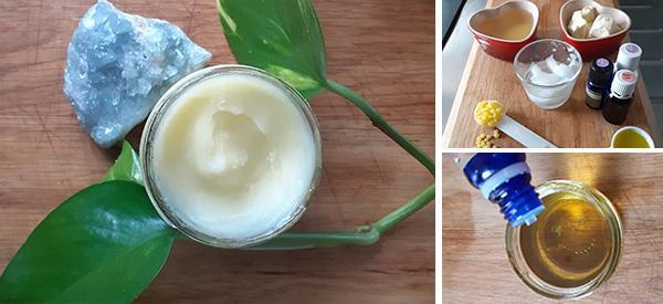 Organic Homemade Ultra-Moisturizing Cream For Face and Body