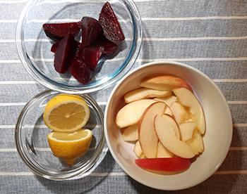 Beetroot Recipe - Ingredients