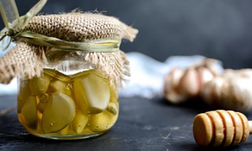 Homemade Fermented Honey Garlic 6