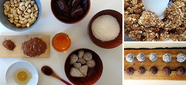 How To Make Herb-Infused Energy Balls
