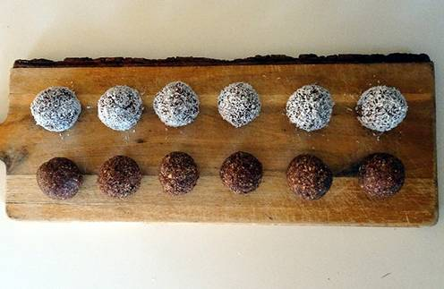 How To Make Herb-Infused Energy Balls - Step 5