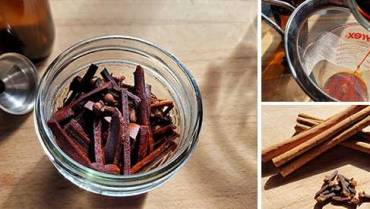 How To Make a Cinnamon Painkilling Tincture