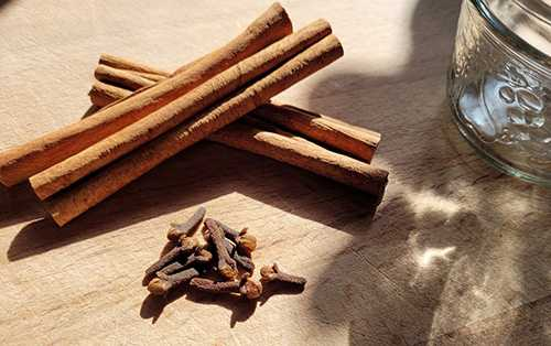 How To Make a Cinnamon Painkilling Tincture - Step 1