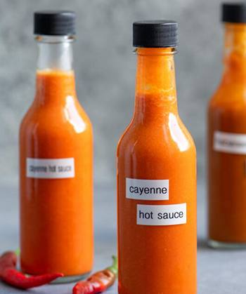7 Natural Remedies to Reduce Blood Clots and The Risk of Stroke - Cayenne Pepper Sauce