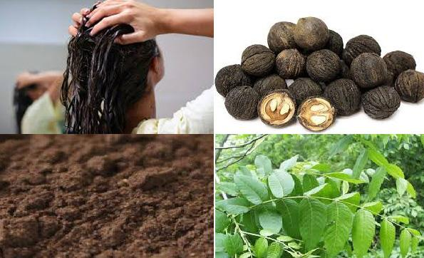 Homemade Hair Dye - Black