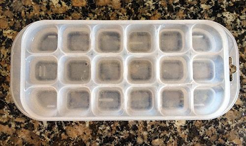 How to Make Herbal Ice Cubes - Step 3