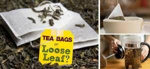 Loose Leaf Tea or Tea Bags - Cover
