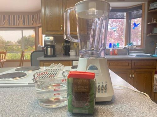 Flaxseed Milk - Step 1
