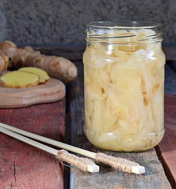 Medicinal Foods - 10 Recipes to Bring Lasting Health - Pickled Ginger