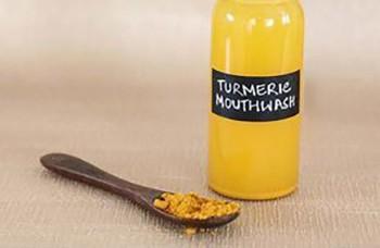 50 Health Benefits of Turmeric - Turmeric Mouthwash