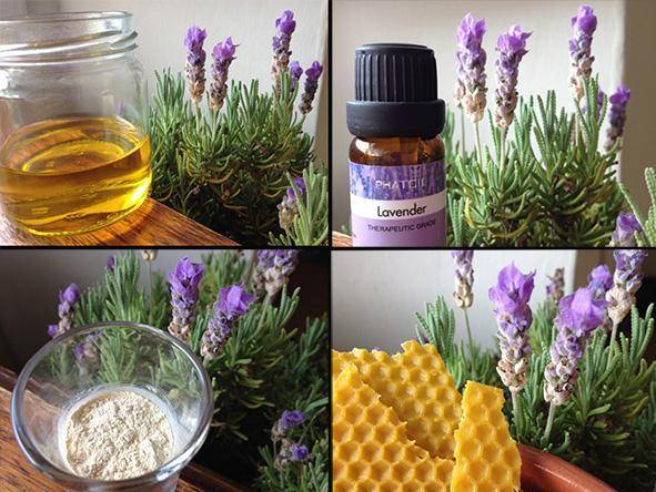 How To Make A Whipped Lavender Cream - Method