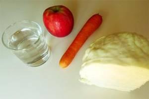 How To Make Fresh Cabbage Juice - Ingredients