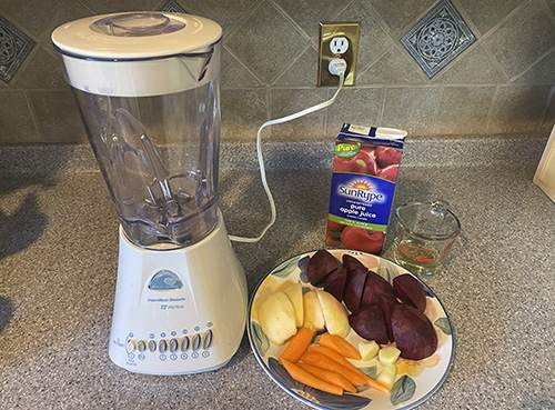 How to Treat Cough With Beets - Fruit and Vegetable Juice - Step 1