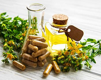 Menopause Symptom Relief Natural Remedies - St John's Wort
